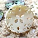 貝や水牛を使用したかわいい花模様のボタン 釦 BT-460 15mm