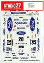 1/24 FOCUS #20 WRC GB '99