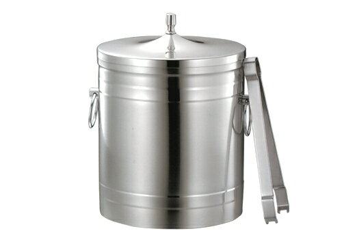 18-8 puppy mark (co-dog) stainless steel ice bucket 2L 15.5cm in diameter (ice bucket)