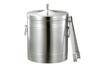 Dog marking ( puppy ) 18-8 stainless steel ice bucket 3 l diameter 17 cm (bucket)