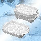 ◎まるまる氷 小(2個組み)直径2.5cm (製氷皿、氷器)FKO-18
