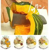 【】ののじ かぼーちょう かぼちゃ包丁 刃渡り14cm SGソフト LUK-E014GY (カボチャ)