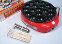 電気たこ焼き器 17穴 ワイワイゲーム 油引き・ピック5本付き