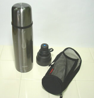 520 ml thermos vacuum insulated 2 ウェイボトル FDX-500WF-CGY cool grey (light water bottle)