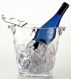 Wave acrylic wine cooler 4 l diameter 200 x 200 mm