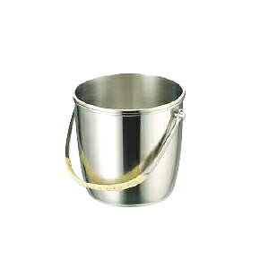 UK18-8 B 渕 M type ice bucket 1.7L 13.5cm in diameter