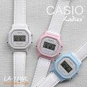 【NEW】【5年保証】CASIO 腕時計 レディース かわいい きれいな ホワイト 小さい 軽い カシオ デジタル LA-11WL 2A LA-11WL-4A LA-11WL..