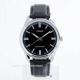【ポイント2倍】CASIOカシオ腕時計黒文字盤メンズ ウオッチ MTP-V005L-1A送料無料(メール便発送)代引き/日時指定不可