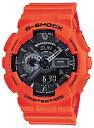 G-SHOCK CASIO カシオ Gショック レスキューオレンジ シリーズ アナデジ GA-110MR-4A メンズ 腕時計【あす楽】【コンビニ受取対応商品】
