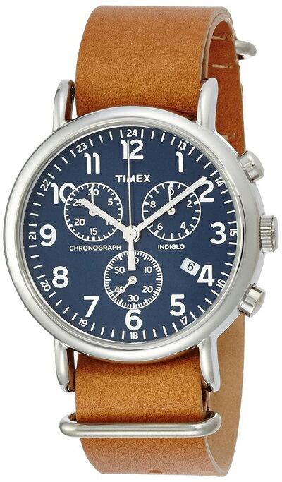 Timex Weekender đai da 40mm chronograph TW2P62300