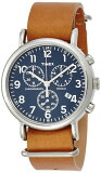 【ポイント2倍】TIMEX タイメックス 腕時計TW2P623 クロノグラフウィークエンダー革ベルト メンズ 時計【あす楽】【ラッピング/送料無料】