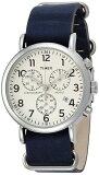 TIMEX タイメックス 腕時計TW2P621 クロノグラフネイビー 本革 メンズ 時計ウィークエンダーセントラルパーク【ポイント2倍】【あす楽】