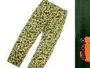 FREE CITY フリーシティー リップストップ ユーズド加工 ボタンフライ カモ柄 カーゴパンツ カーキ 30(ka20180130-17) 32(ka20180130-18) /メンズ