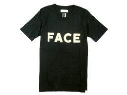 FACETASM <strong>ファセッタズム</strong> FACE TEE ロゴプリント コットン クルーネック 半袖Tシャツ ブラック×ゴールド 5 /ka20180712-11 /メンズ