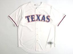 Majestic マジェスティック MLB メジャーリーグ ベースボール Texas Rangers テキサスレンジャーズ COOL BASE DARVISH <strong>ダルビッシュ有</strong>選手 11 HOME プレイヤー レプリカ ユニフォーム 野球 定1.7万 ホワイト M-01 L-02▲058▼00110k06