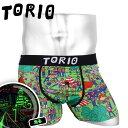 TORIO/トリオ ボクサーパンツ メンズ アンダーウェア 下着 おしゃれ かわいい トーリー おもしろパンツ ツルツル ブランド 男性 プレゼント プチギフト 誕生日プレゼント バレンタイン 彼氏 父 息子 ギフト 記念日