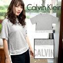 カルバンクライン Tシャツ レディース オーバーサイズ