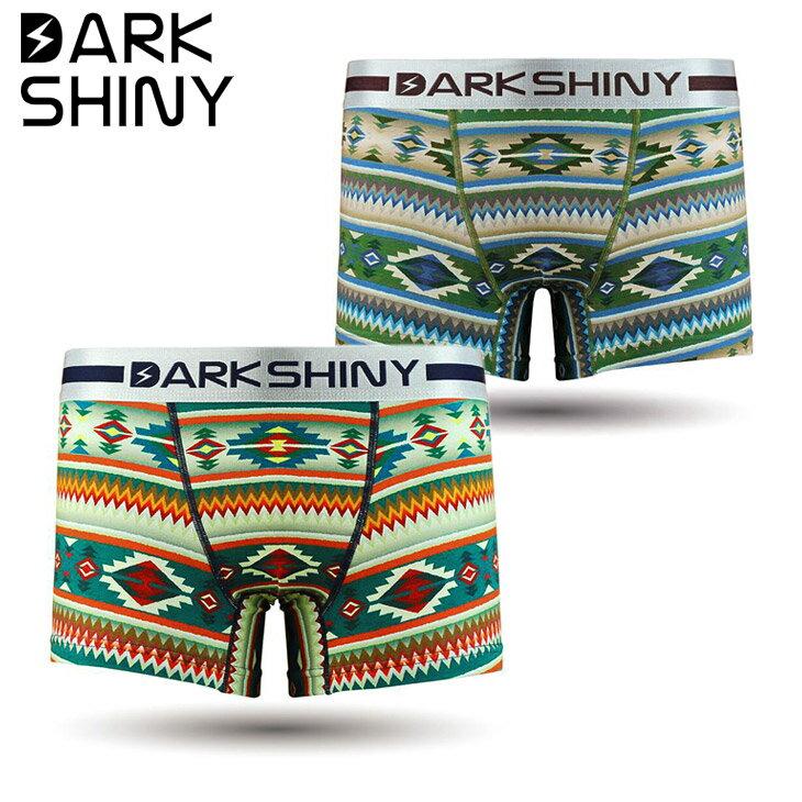 DARK SHINY/ダークシャイニー ボクサーパンツ メンズ 下着 Ethnic ブランド エスニック 誕生日プレゼント 彼氏 父 男性 旦那 ギフト