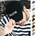 カルバンクライン キャップ メンズ 帽子 ハット CK LOGO ブランド ロゴ 6パネル Calv...