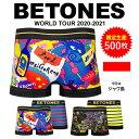 BETONES/ビトーンズ WorldTour メンズ ボクサーパンツ ワールドツアー キャラクター