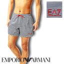 水着 短パン メンズ サーフパンツ プール ブランド EMPORIO ARMANI エンポリオ アルマーニ 組スイムウェア ビーチウェア ショートパンツ プチギフト 誕生日プレゼント 父 旦那 ギフト 記念日 10as