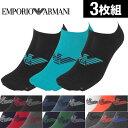 【3足セット】エンポリオ アルマーニ ソックス メンズ 靴下...