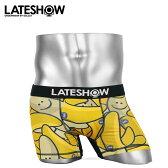 LATESHOW/レイトショー Nece to See you メンズ ボクサーパンツ 彼氏 父 ギフト ブランド 男性 下着 バナナ 誕生日 プレゼント【送料無料】【あす楽】