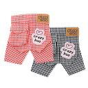 CRAZYBOO / クレイジーブーギンガムチェックパンツS / M / Lサイズ犬服 / 犬の服/ ドッグウェア