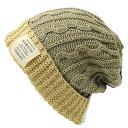 大きいサイズ メンズ 帽子 L XL クレイジー ケーブルニット BIGWATCH ビッグワッチ 正規品 DP-05 春 秋 冬
