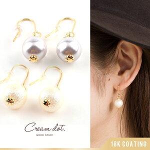 パケット アクセサリー コットン ゴールド ホワイト フラワー カジュアル ファッション
