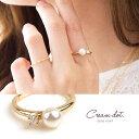 リング 指輪 アクセサリー パール ビジュー シンプル 金 ゴールド デイリー 重ね付け 結婚式 カジュアル 小物 ファッション雑貨 ギフト 大人 レディース 女性