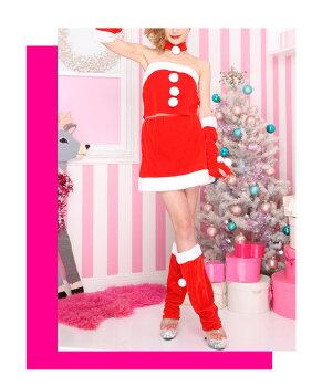 サンタコスプレ激安サンタコス衣装コスクリスマスコスチューム大きいサイズセクシーサンタクロースパーティセットアップサンタコスプレサンタコスチュームカチューシャレッグウォーマーアームウォーマー赤レッド2016レディースレディースファッション