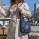 [creareきき]藍 柿渋染 ショルダーバッグ ハンドバッグ レディース ミセス 斜めがけ『嵐山 クレープ ふくろう』軽い 軽量 旅行 京都 刺繍 バッグ 鞄 日本製