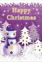 メッセージボイスカード/ファミリースノーマン メッセージカード・クリスマスタイプ ボイスレコーダー 小型 簡単録音 誤消去防止 写真貼り付け 録音 録音機 小型 クリスマスプレゼント 【ラッピング無料】