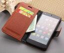 【送料無料 メール便発送】 Google Nexus 5 専用レザーケース 手帳型 【Google Nexus 5 ケース| Google Nexus5 カバー...