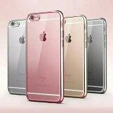 ������̵�� �����ȯ���� iPhone 6 / iPhone6s / iPhone 6 Plus/6s Plus���ѥ����� ��å��ù� TPU ��4�� �ڥ��եȥ����� iPhone6 ���С�,iPhone6s Plus ������ �����ե����� �����ե��С� Case Cover��