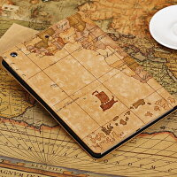 iPadAirスマートケーススリープ機能付け地図柄2