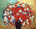 数字塗り絵 油絵風 花の物語 名画 【油絵】 アクリル絵の具 塗り絵 大人 油絵 楓景 油絵セット キャンバス 壁デコ 塗り絵セット 壁飾り ギフト 手作り アートパネル 絵 絵画 敬老の日 趣味 プレゼント