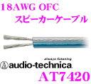 オーディオテクニカ AT7420 18ゲージOFC車載用スピーカーケーブル 【数量1で1mのご注文となります】