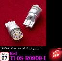 【LEDweek開催中♪】Valenti ヴァレンティ T10S-R0909-1 ジュエルLEDルームカラーランプ レッド T10ウェッジ(W2.1×9.5d型) 【純正T10バルブ同等サイズ】