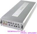 クラリオン APA4360 180W×4chパワーアンプ