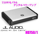 【只今エントリーでポイント14倍&クーポン!】JL AUDIO ジェイエルオーディオ HD750/1 Class Dフルレンジ 750Wモノラルパワーアンプ