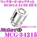 McGard マックガード ロックナット MCG-34215 【M14×1.5テーパー/4個入/レクサスLS ランクル レジェンド用】