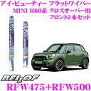 ���ܾ��ʥݥ����10��!!��BELLOF �٥�� ���� �ӥ塼�ƥ��� �ե�åȥ磻�ѡ��֥졼�� MINI R60�� �ߥ˥��?�����С��� �ե���2�ܥ��å� �ڱ�ž��¦ RFW47...