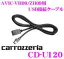 【スーパーSALE限定クーポン大量配布中!】カロッツェリア CD-U120 USB接続ケーブル