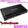ロックフォード RockfordFosgate PRIME R600X5 定格出力50W×4ch+200Wパワーアンプ 【ハイレベルインプット対応】