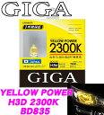カーメイト GIGA BD835 H3D ヘッドライト/フォ...