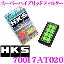 HKS エアフィルター 70017-AT020 トヨタ ノア ヴォクシー 60系 86 ZN6系/スバル BRZ ZC6系 等用 純正交換用スーパーハイブリッドフィルター 純正品番:17801-22020 対応