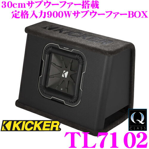 【本商品エントリーでポイント9倍!】KICKER キッカー Q-CLASS TL7102 …...:creer:10055364