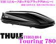 THULE TouringL(Touring780) スーリー ツーリング780 TH6348-1 ブラックグロッシールーフボックス(ジェットバッグ) 【ファーストクリック/デュアルサイドオープン/セントラルロッキング機能搭載】